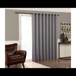 Eclipse Tricia Room Patio Door Panel Grey (100x84)